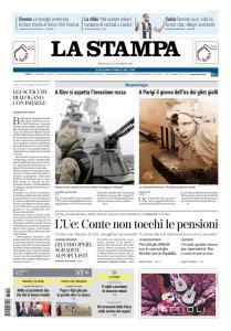 La Stampa Torino Provincia e Canavese - 2 Dicembre 2018