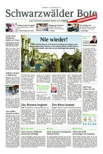 Schwarzwälder Bote Blumberg - 10. November 2018