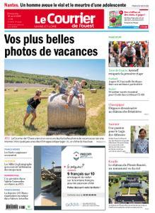 Le Courrier de l'Ouest Angers – 30 août 2020
