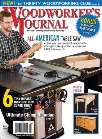 Woodworker's Journal - April 2009