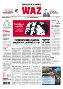 WAZ Westdeutsche Allgemeine Zeitung Oberhausen-Sterkrade - 05. September 2018