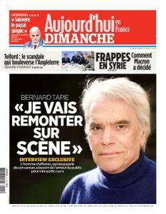 Aujourd'hui en France du Dimanche 15 Avril 2018