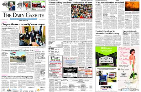 The Daily Gazette – January 02, 2020