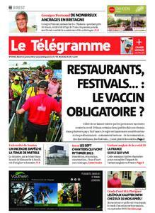 Le Télégramme Brest – 12 janvier 2021