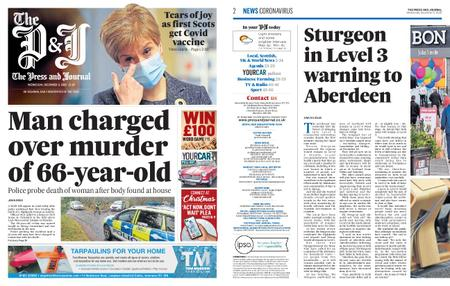The Press and Journal Moray – December 09, 2020