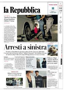 la Repubblica - 13 Aprile 2019
