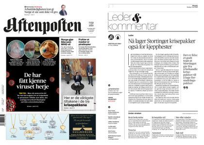 Aftenposten – 01. april 2020