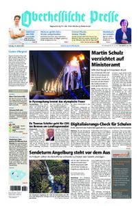 Oberhessische Presse Marburg/Ostkreis - 10. Februar 2018