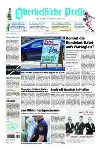 Oberhessische Presse Marburg/Ostkreis - 06. August 2018