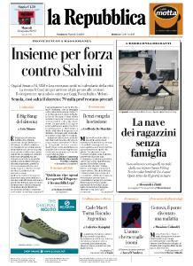 la Repubblica - 13 Agosto 2019