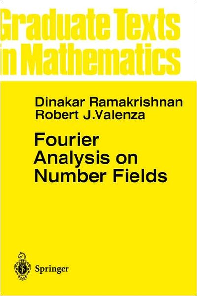 Fourier Analysis on Number Fields (repost)