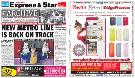 Express and Star Sandwell Edition – March 04, 2019