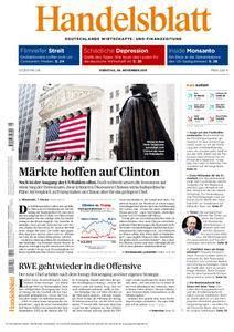 Handelsblatt - 08. November 2016