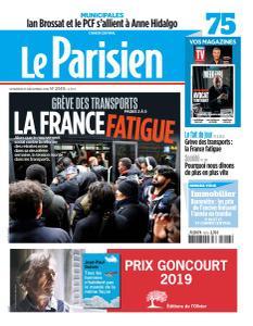 Le Parisien du Vendredi 13 Décembre 2019