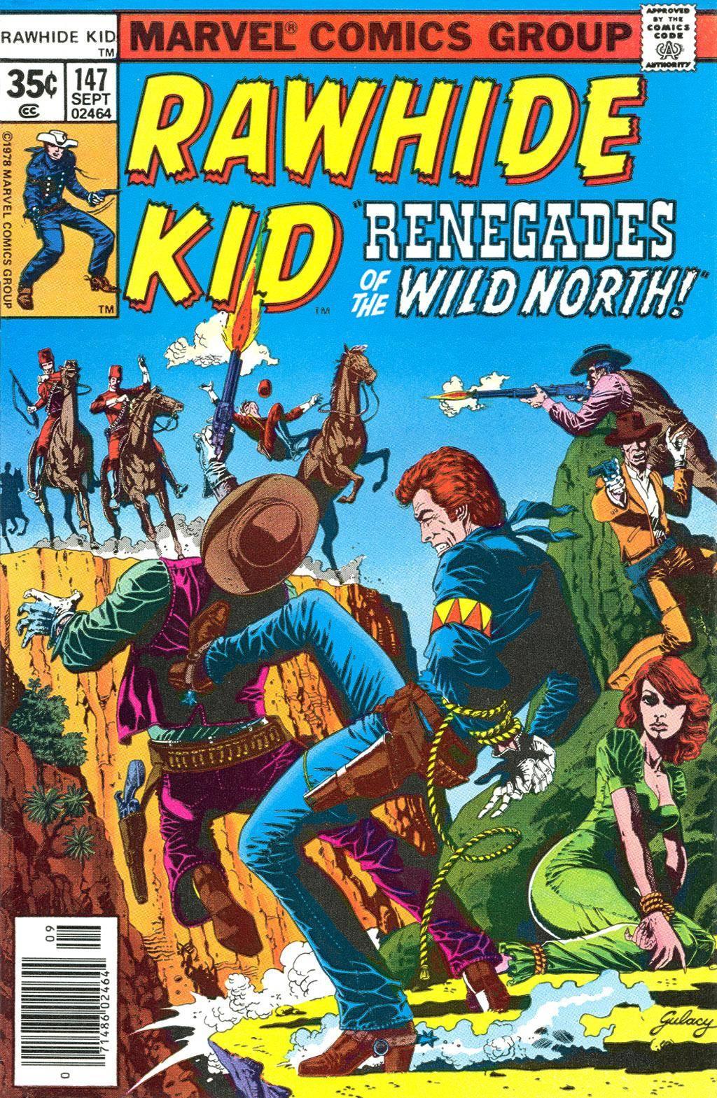 Rawhide Kid v1 147 1978 Brigus
