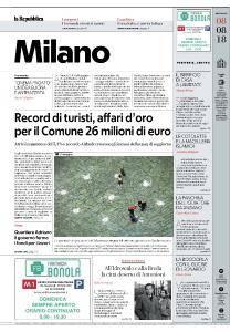 la Repubblica Milano - 8 Agosto 2018