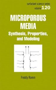Microporous Media: Synthesis, Properties, and Modeling (Surfactant Science)