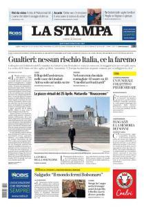 La Stampa Torino Provincia e Canavese - 26 Aprile 2020