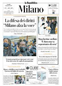 la Repubblica Milano - 8 Giugno 2020