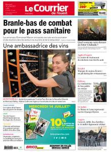 Le Courrier de l'Ouest Angers – 14 juillet 2021