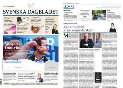 Svenska Dagbladet – 25 augusti 2018