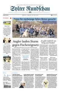 Sylter Rundschau - 11. Mai 2018