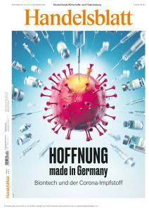 Handelsblatt - 13 November 2020