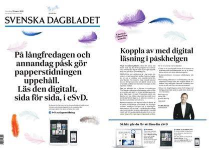 Svenska Dagbladet – 29 mars 2018