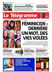 Le Télégramme Concarneau – 25 novembre 2019