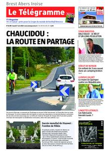 Le Télégramme Brest Abers Iroise – 01 juin 2019
