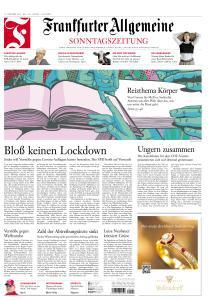 Frankfurter Allgemeine Sonntags Zeitung - 11 Oktober 2020