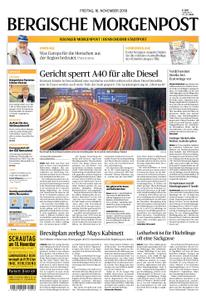 Solinger Morgenpost – 16. November 2018