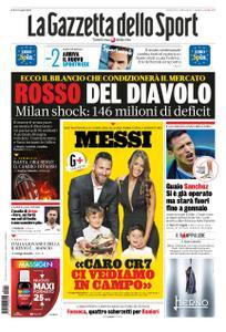 La Gazzetta dello Sport Roma – 17 ottobre 2019