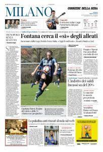 Corriere della Sera Milano - 9 Gennaio 2018