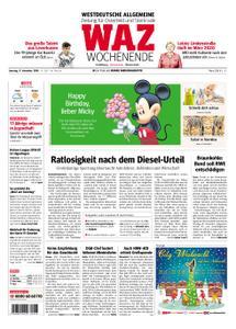 WAZ Westdeutsche Allgemeine Zeitung Oberhausen-Sterkrade - 17. November 2018