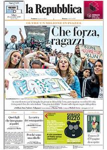la Repubblica - 28 Settembre 2019