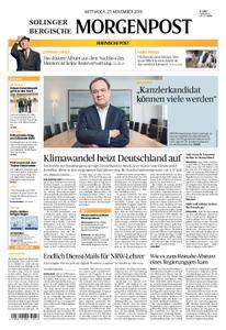 Solinger Morgenpost – 27. November 2019