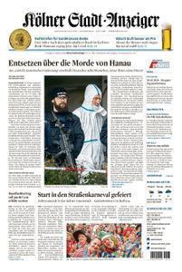 Kölner Stadt-Anzeiger Bergheim – 21. Februar 2020
