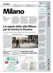 la Repubblica Milano - 18 Novembre 2018