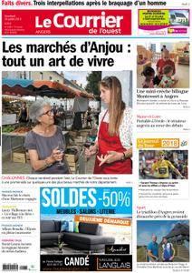 Le Courrier de l'Ouest Angers - 20 juillet 2018