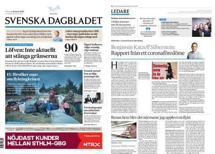 Svenska Dagbladet – 16 mars 2020