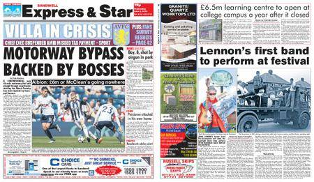 Express and Star Sandwell Edition – June 06, 2018
