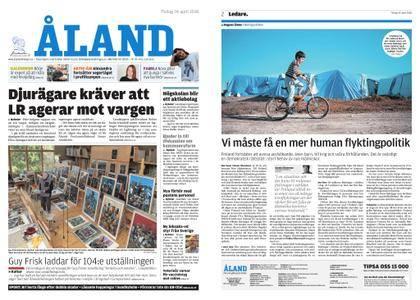 Ålandstidningen – 24 april 2018