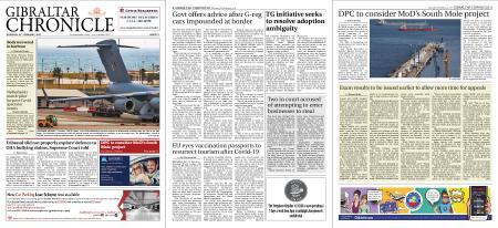 Gibraltar Chronicle – 25 February 2021