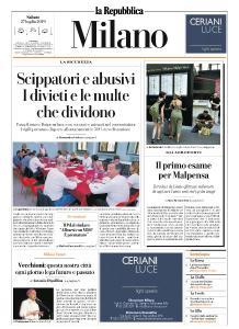 la Repubblica Milano - 27 Luglio 2019