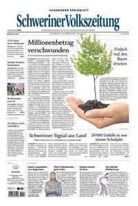 Schweriner Volkszeitung Hagenower Kreisblatt - 25. April 2018