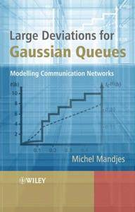 Large Deviations for Gaussian Queues: Modelling Communication Networks (Repost)