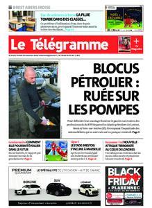 Le Télégramme Brest Abers Iroise – 30 novembre 2019