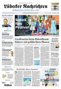 Lübecker Nachrichten Ostholstein Süd - 08. Juni 2018