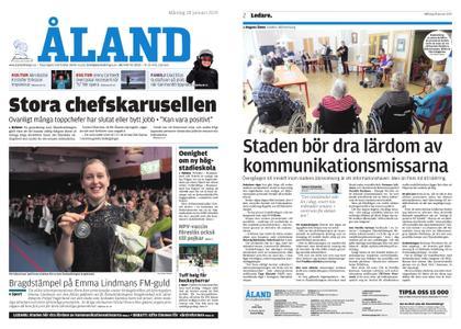 Ålandstidningen – 28 januari 2019